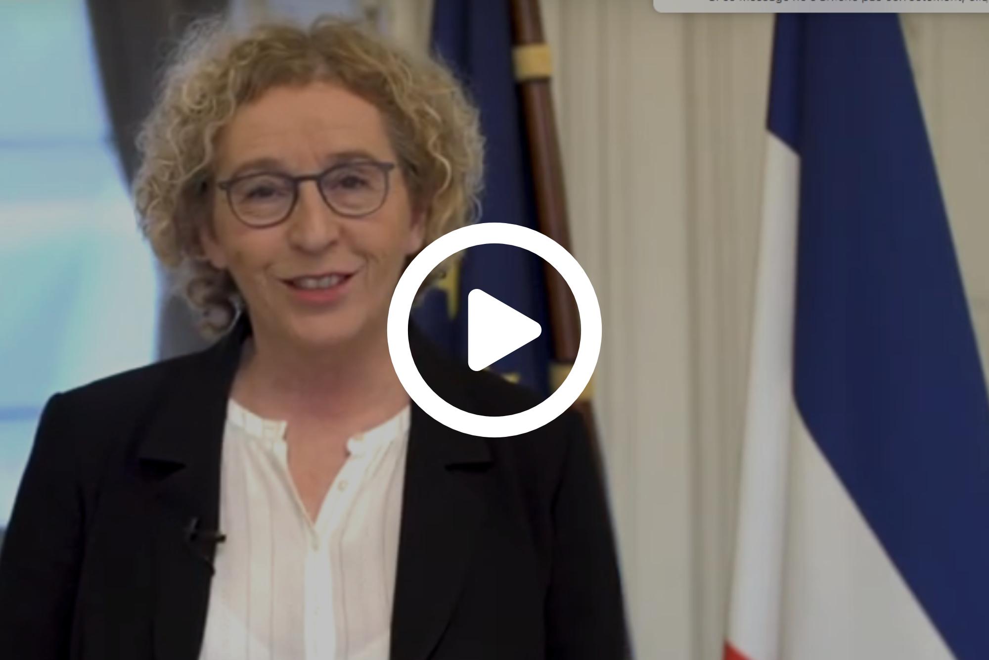 Allocution de Muriel Pénicaud, Ministre du Travail